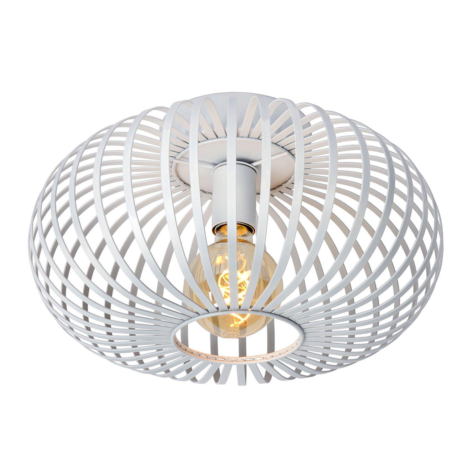 Bur-taklampe Manuela i hvit, 40 cm