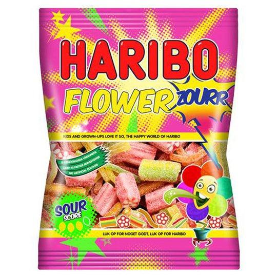 """Karkkipussi """"Flowerzourr"""" 250g - 20% alennus"""