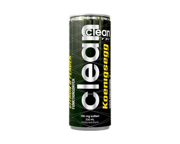 Clean Drink Koenigsegg Citron/Fläder 33cl