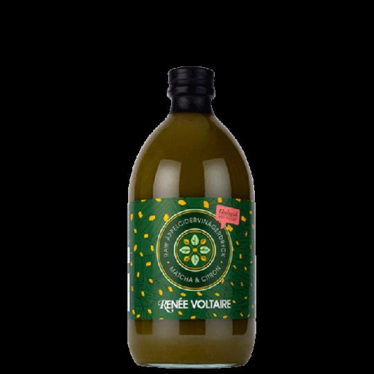 Raw Äppelcidervinäger Matcha & Citron, 500 ml