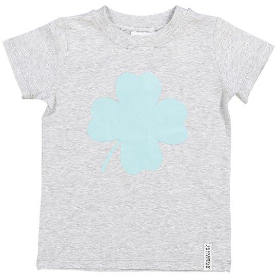 Geggamoja Kløver T-Shirt, Grønn 74/80