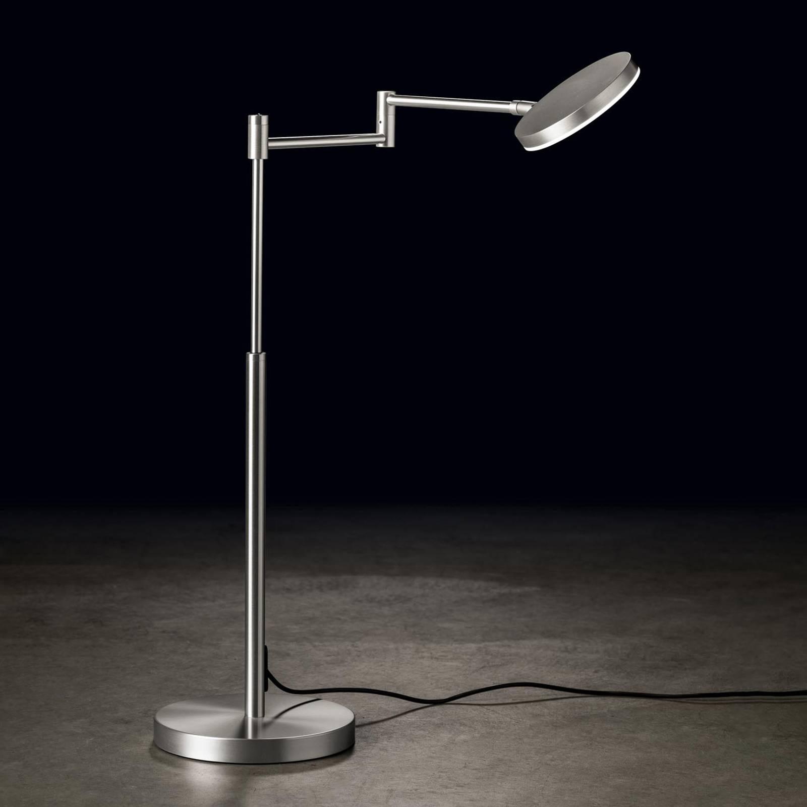 Holtkötter Plano T -LED-pöytälamppu matta alumiini