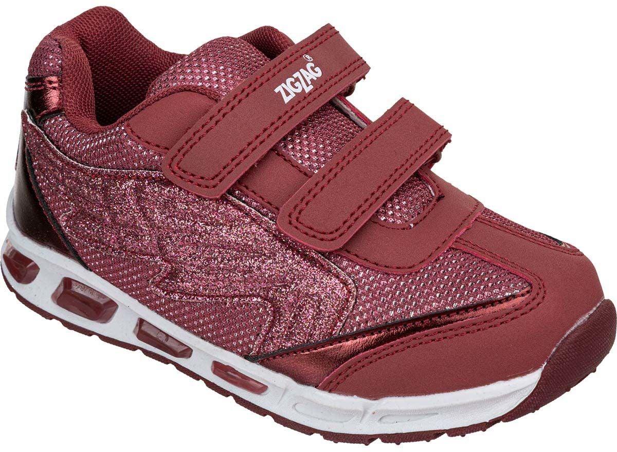 ZigZag Roseau Blinkande Sneaker, Apple Butter, 24