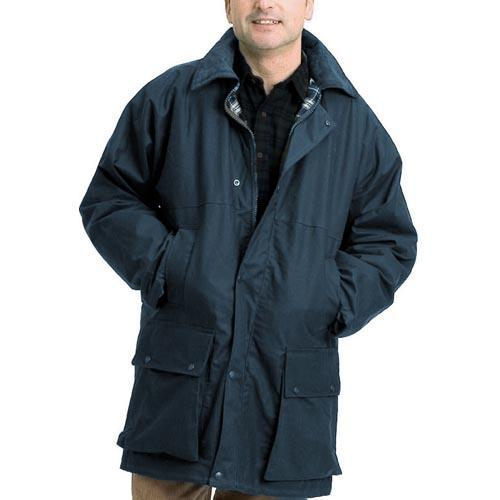 Game Technical Apparel Men's Jacket Various Colours Padded - Navy 2XL