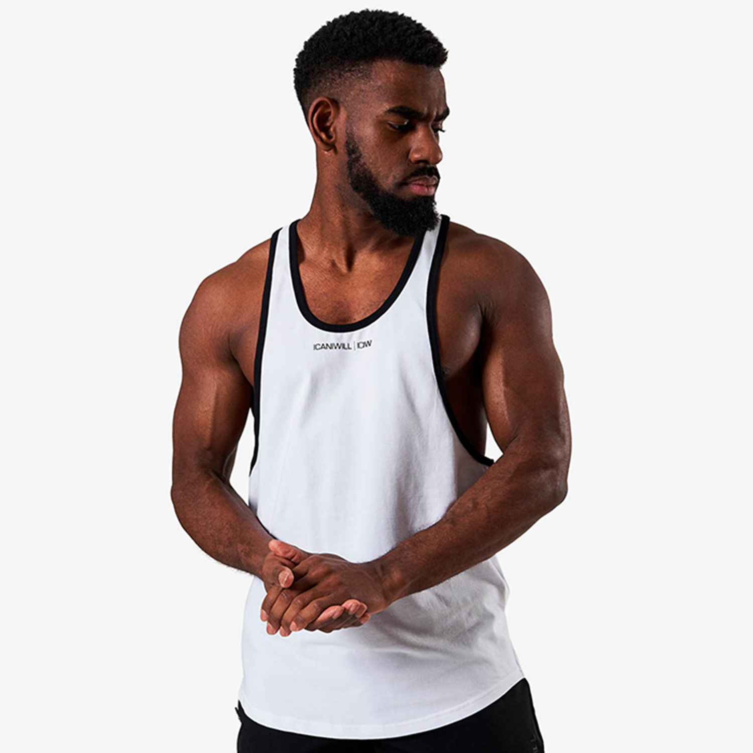 Training Muscle Tank Top, White
