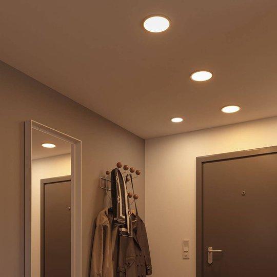 Paulmann-LED-paneeli Areo pyöreä kromi 17,5 cm