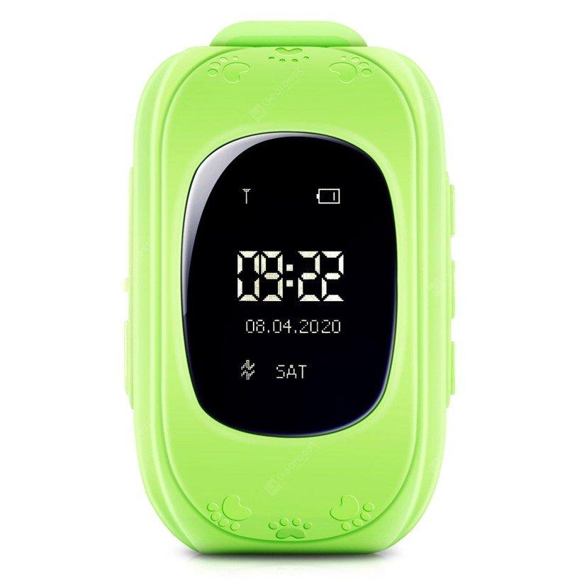 GPS Child Tracker Watch - Green (04090.GREEN)