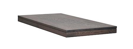 Brooklyn Tilläggsskiva Mörkbrun Ek 50x95 cm
