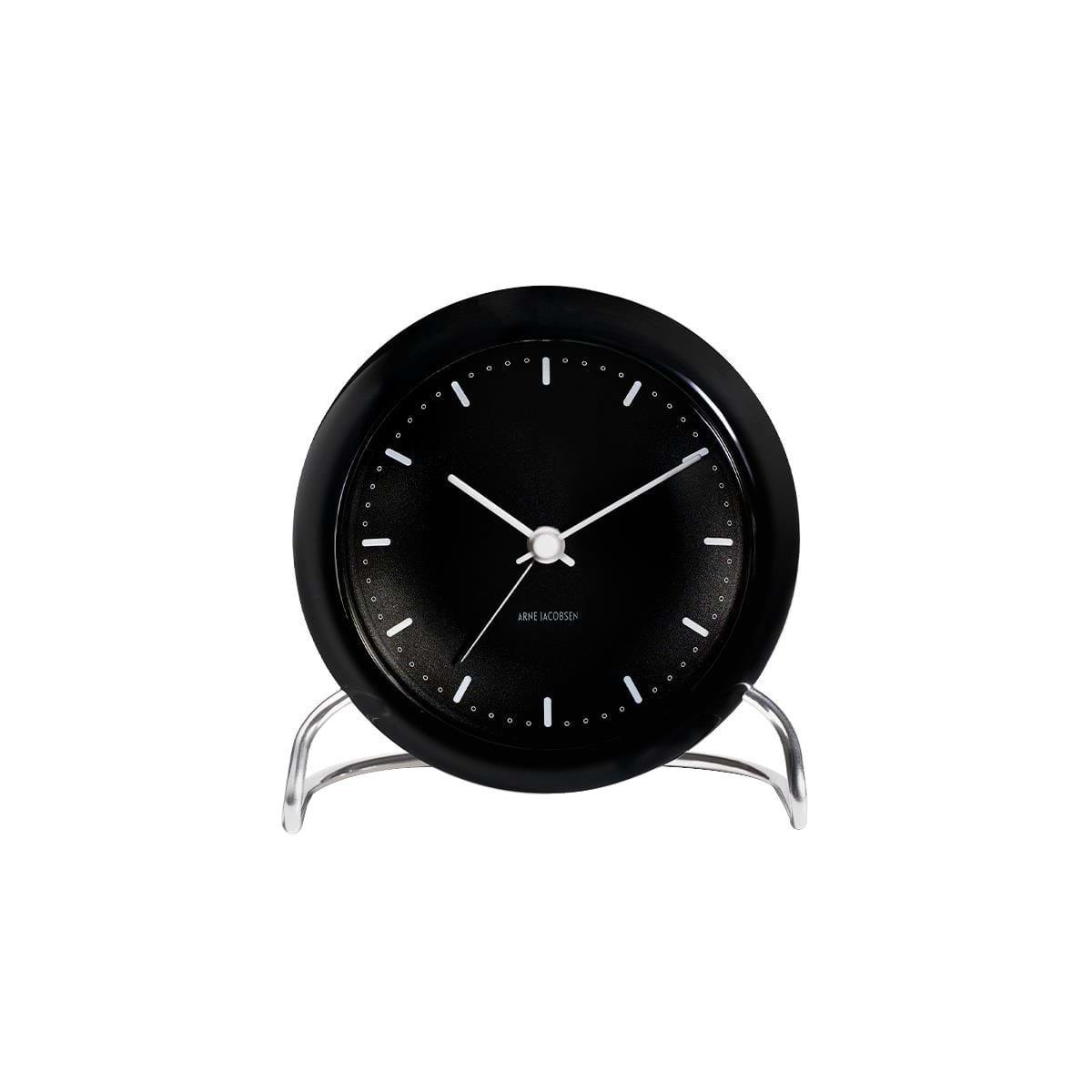Arne Jacobsen - City Hall Table Clock - Black (43673)