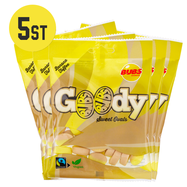 5st - Bubs Goody Banana / Toffee 90G