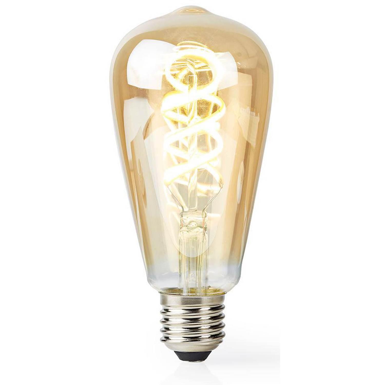 Nedis Smart filamentslampa E27 ST64