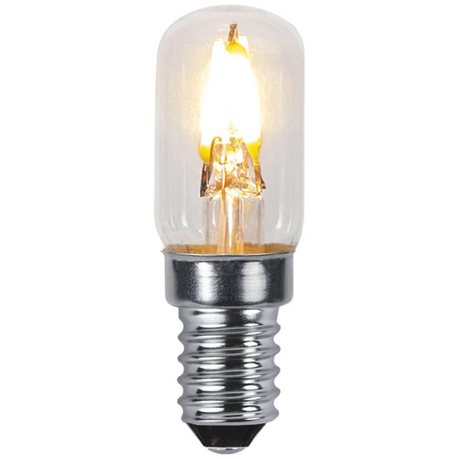 LED-lamppu E14 T16 0,3W 30lm Soft Glow 2100K