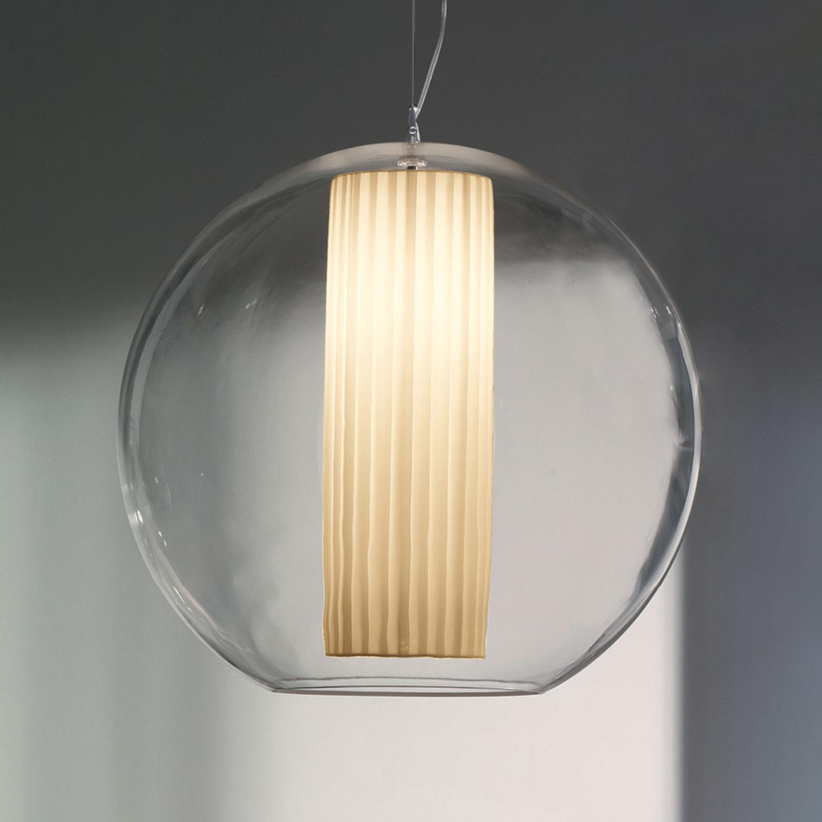 Modo Luce Bolla riippuvalaisin, valkoinen Ø 60 cm