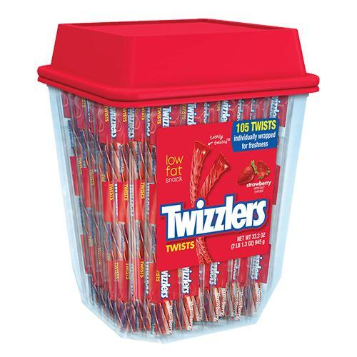 Twizzlers Strawberry Twist Tub 105st