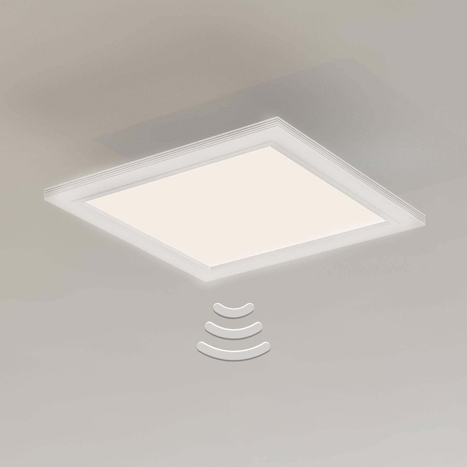 7187-016-LED-kattovalo, sensori, 29,5 x 29,5cm