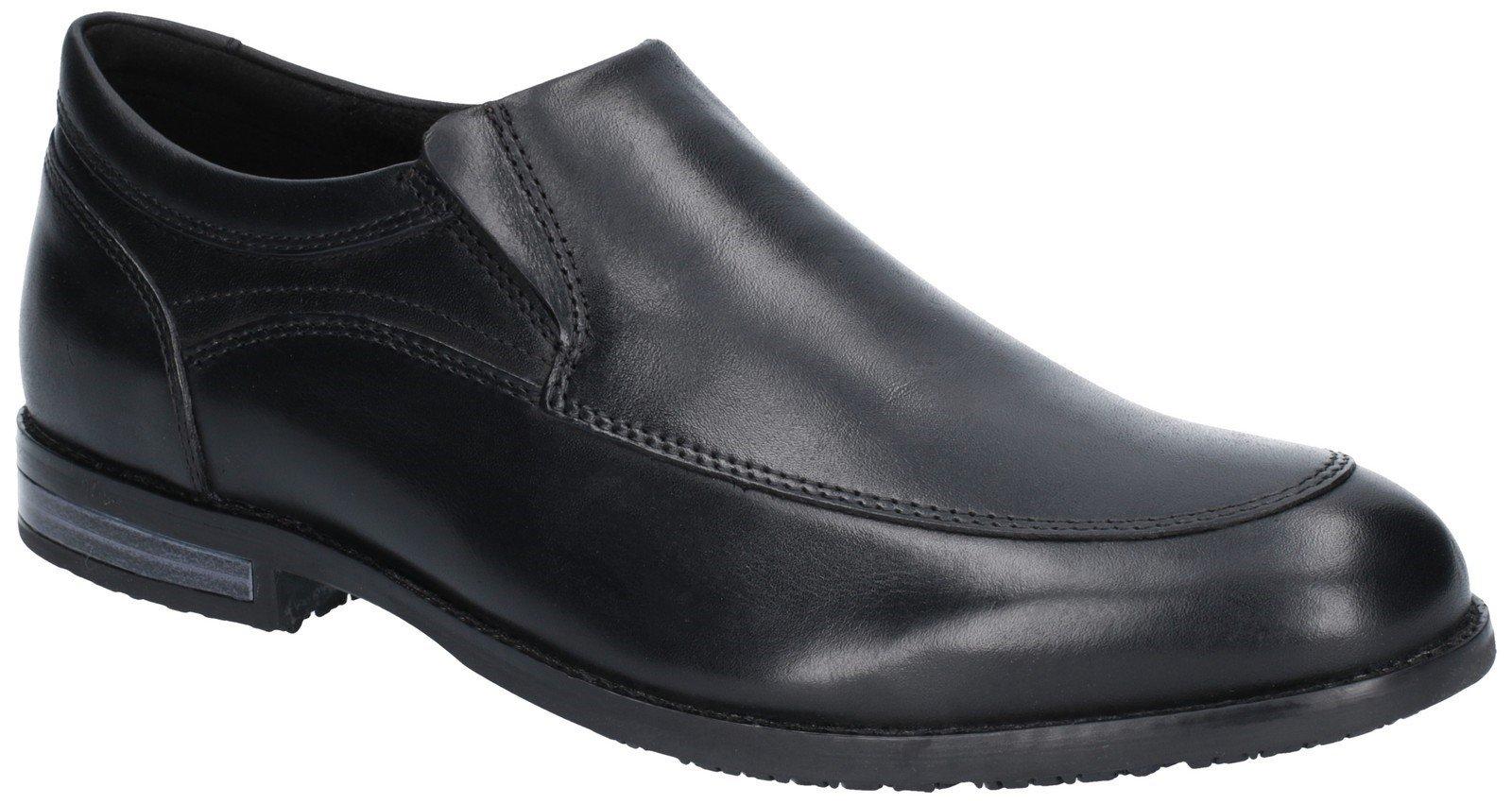 Rockport Men's Dustyn Slip On Shoe Loafer Black 28856 - Black 7