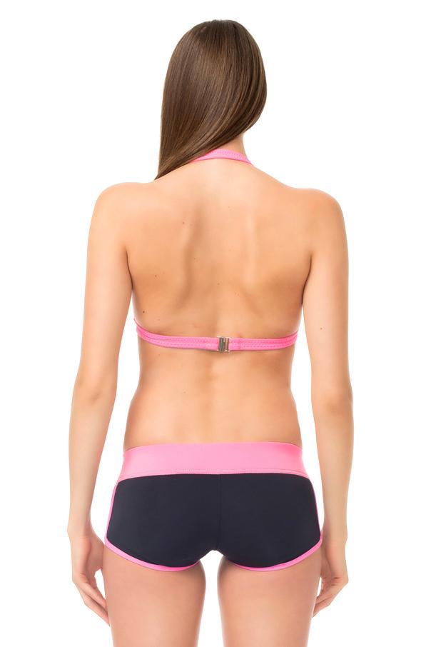 Signature Halter Bikini Top / M