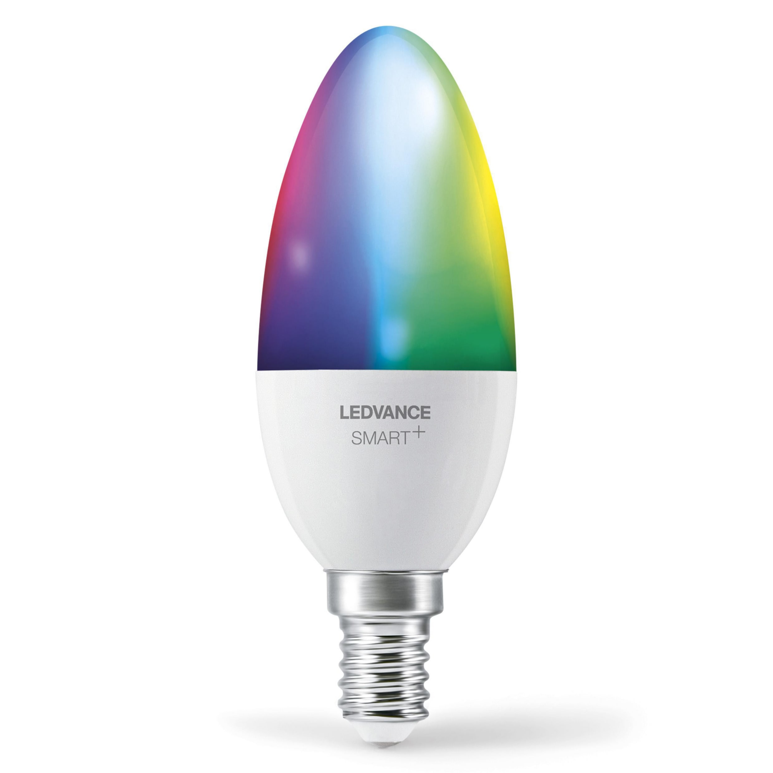 LEDVANCE - SMART+ candle 40W/RGBW frosted E14 WiFi