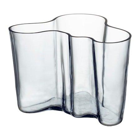 Aalto vase 140 mm recycled munnblåst i treform
