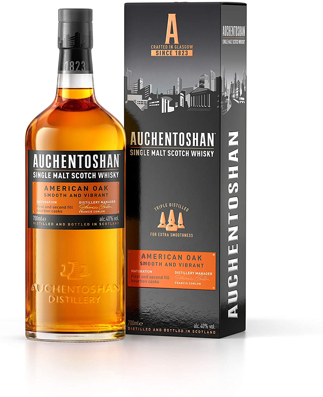 Auchentoshan American Oak Cask Single Malt Whisky 70cl