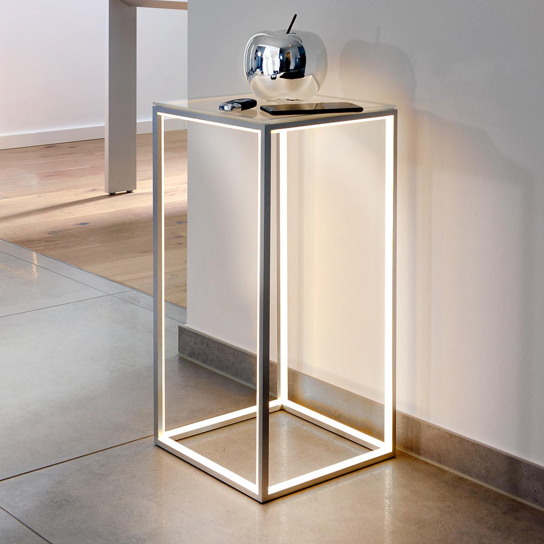 Delux-valaisinpöytä, korkeus 60 cm