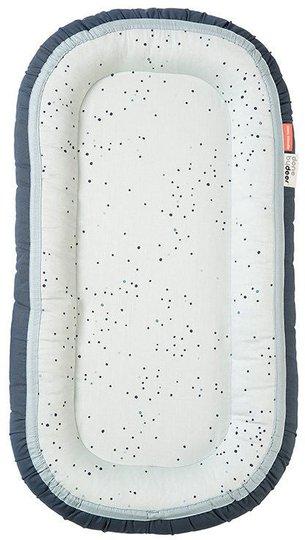 Done By Deer Babynest Cozy Plus Dreamy Dots, Blue
