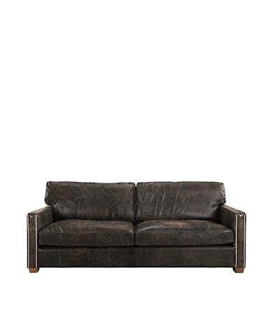 Viscount soffa 3-sits Läder fudge
