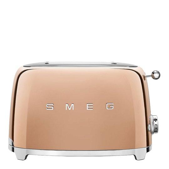 Smeg - 50's Style Brödrost 2 skivor Roséguld