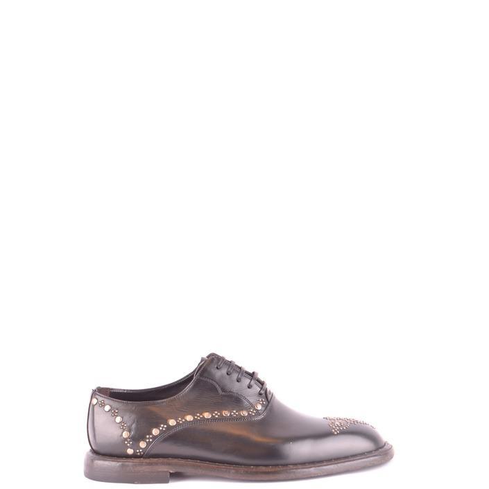 Dolce & Gabbana Men's Lace Ups Shoes Black 187205 - black 41