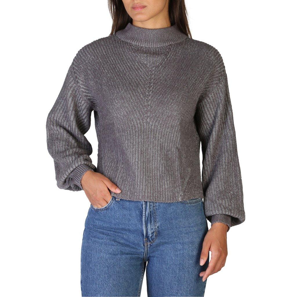 Calvin Klein Women's Sweater Brown J20J206097 - brown S