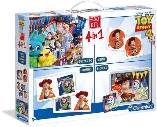 Toy Story 4 i 1 Spill og Puslespill