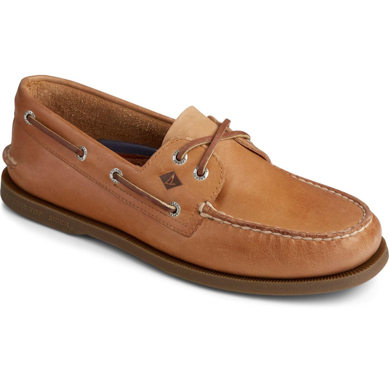 Sperry Men's Authentic Original Leather Boat Shoe Various Colours 31524 - Nutmeg 10