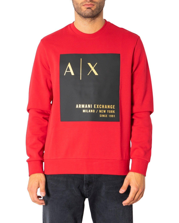 Armani Exchange Women's Sweatshirt Various Colours 272259 - red S