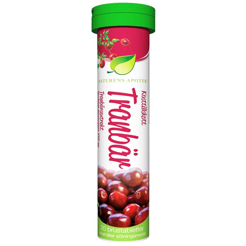 Brustablett Tranbär - 45% rabatt