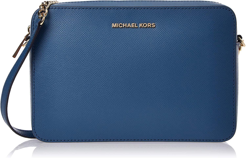 Michael Kors Women's East West Crossbody Bag Blue MK27509