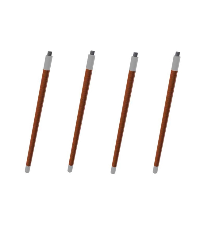 FRAME 4 st 60 cm hörnstolpar vit, Cane-line