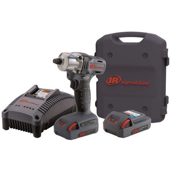 Ingersoll Rand W5130EU-K2 Muttertrekker med 1,5Ah-batterier og lader
