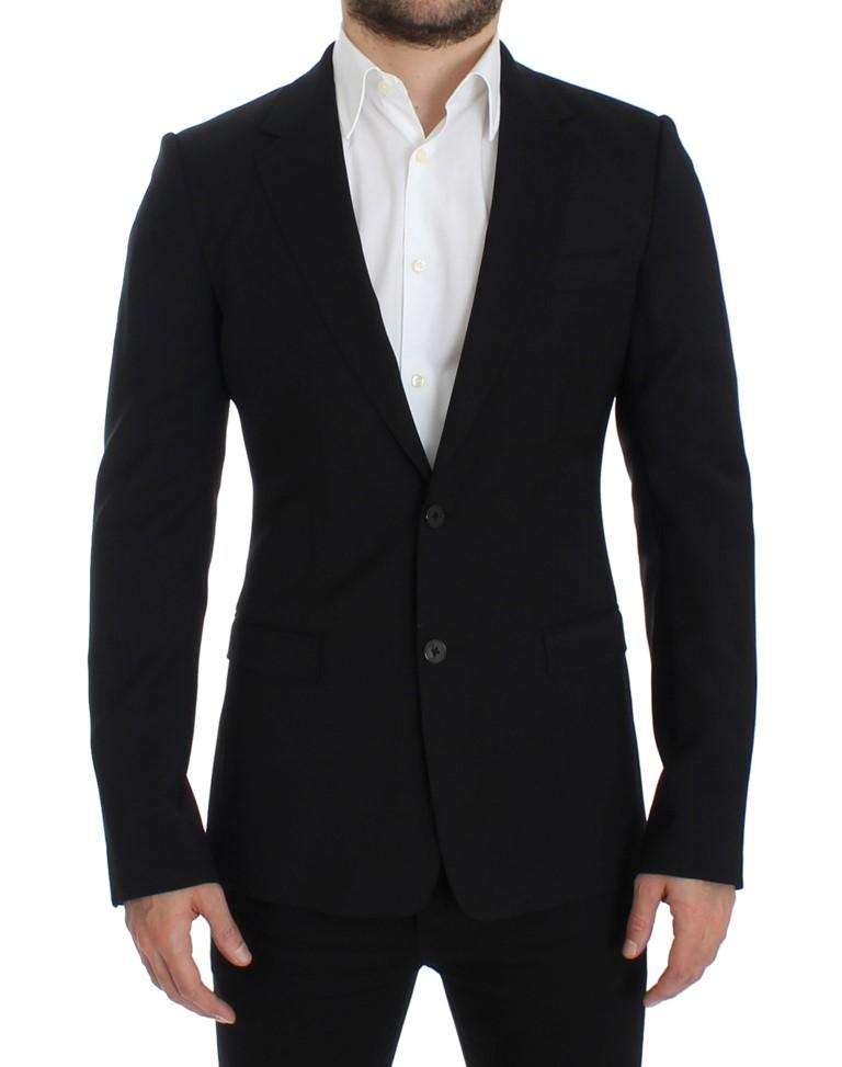 Dolce & Gabbana Men's wool slim fit Blazer Black SIG12302 - IT48 | M