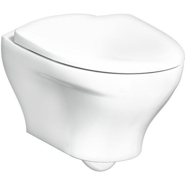 Gustavsberg Estetic 8330 Toalett med armatur og veggtrykk