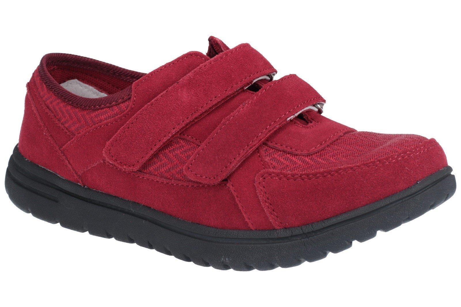 Fleet & Foster Women's Jean Touch Fasten Shoe Black 27154-45624 - Bordo 3