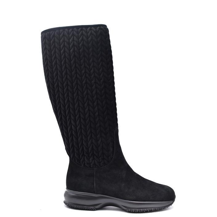 Hogan Women's Boot Black 263124 - black 36