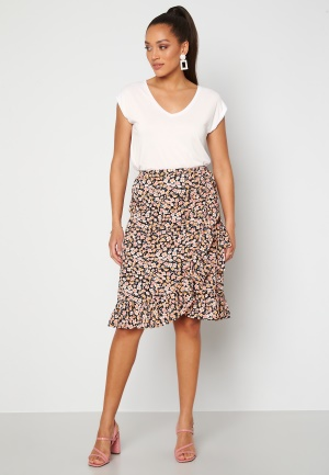 ONLY Fuchsia Wrap Skirt Black L