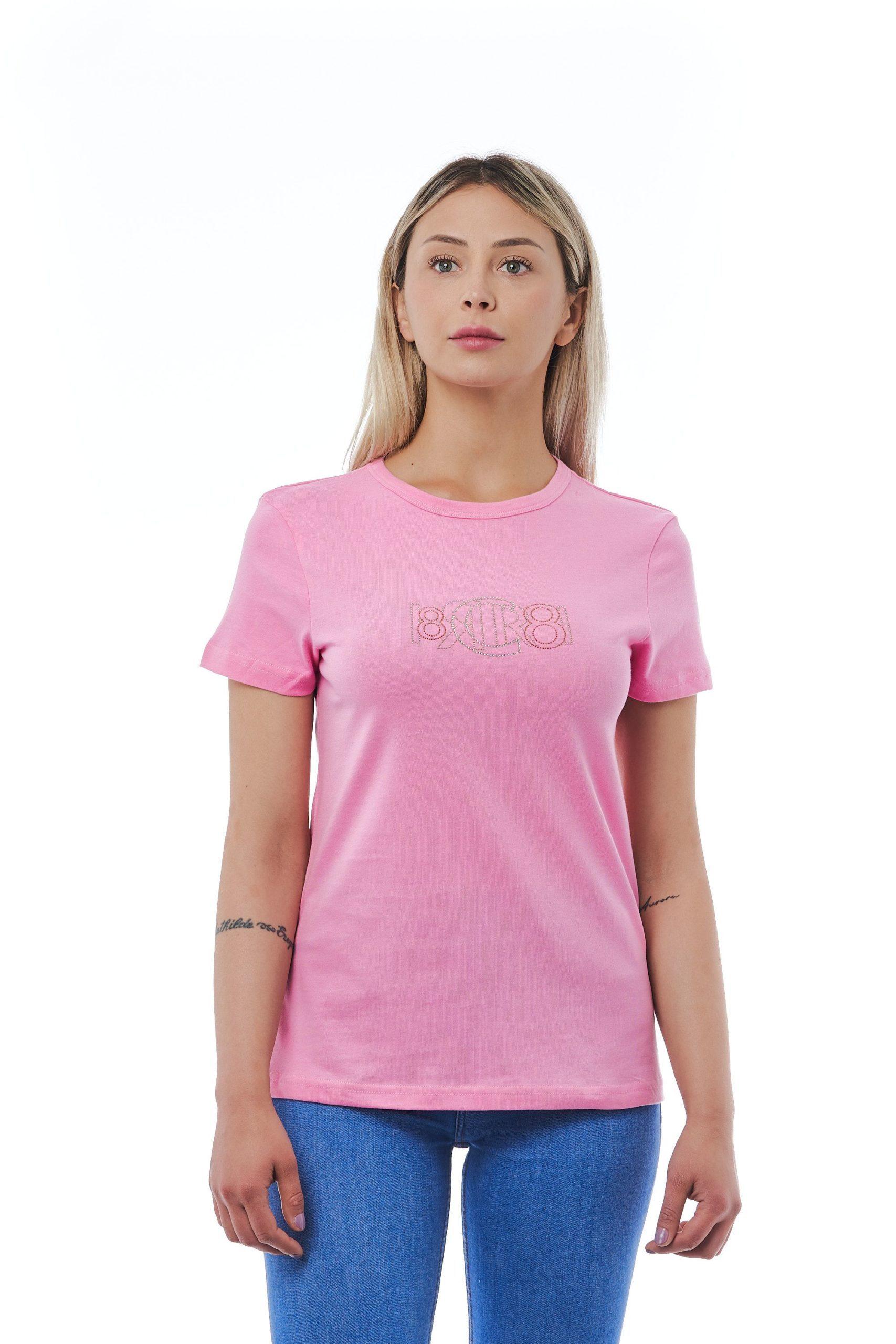 Cerruti 1881 Women's Rosa T-Shirt Pink CE1410195 - M