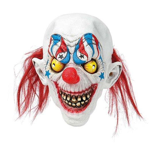 Clownmask med Tänder - One size