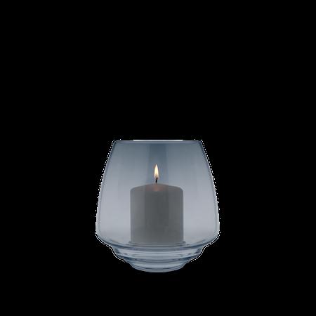 Flow Lysestake til kubbelys blå Ø18,5 cm