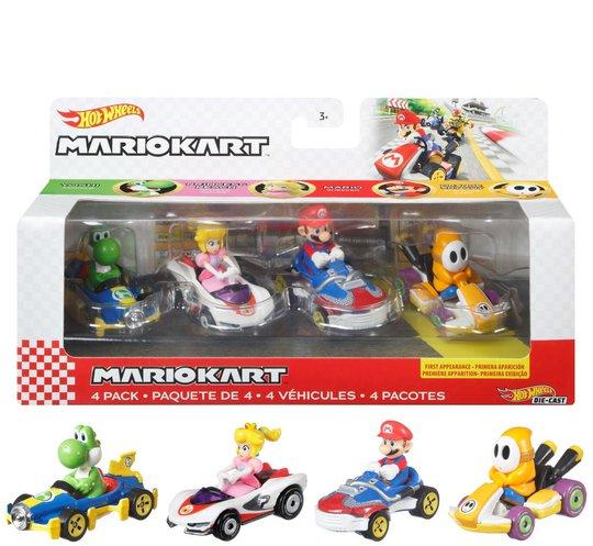 Hot Wheels Mario Kart Die-Cast 4-Pack 2