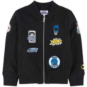 Fabric Flavours Batman Patch Bomber Jacket Svart 3-4 years