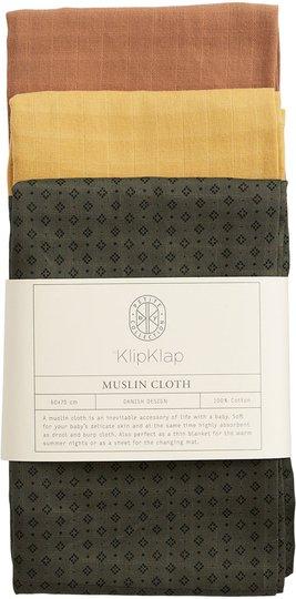 by KlipKlap Helseteppe 3-pack, Mixed