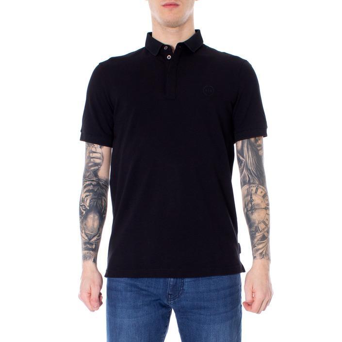Armani Exchange Men's Polo Shirt Black 166307 - black XS