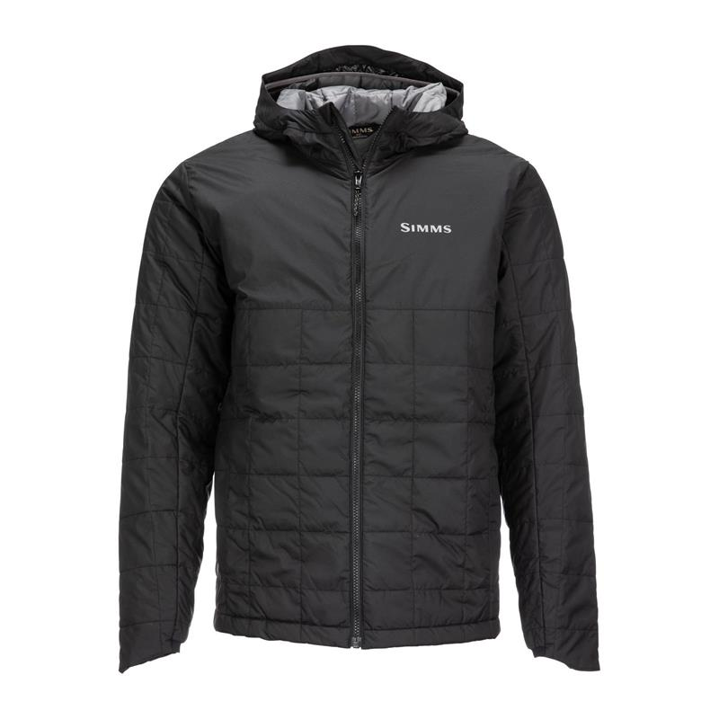 Simms Fall Run Hoody Black 3XL Primaloft jakke